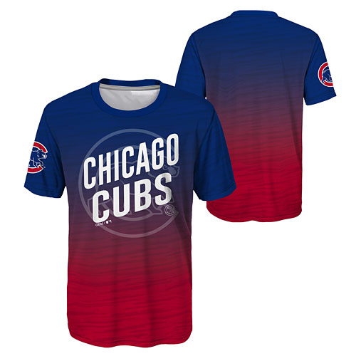 11e3eae7 Chicago Cubs Youth In Action Sublimated T-Shirt