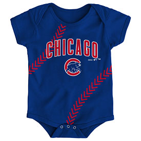 Chicago Cubs Newborn Fantastic Creeper