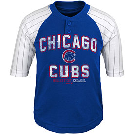 Chicago Cubs Infant The Original 3/4 Length Sleeve Raglan Shirt