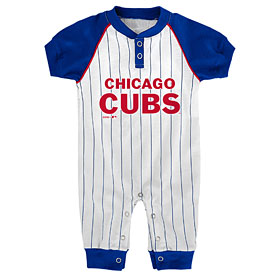 Chicago Cubs Newborn Gametime Coverall