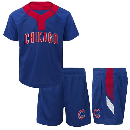 sports shoes 467f5 d41bb Chicago Cubs Toddler Ground Rules T-Shirt & Shorts Set