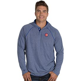 Chicago Cubs Captain Hooded Long Sleeve T-Shirt