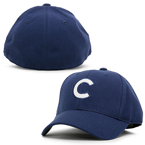Chicago Cubs 1911-12 Cooperstown Fitted Cap ef5d7a4fe31