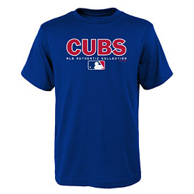 Chicago Cubs Preschool Team Drive On-Field Authentic T-Shirt