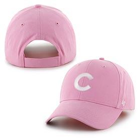 cce8cc84 Chicago Cubs Toddler Pink MVP Adjustable Cap