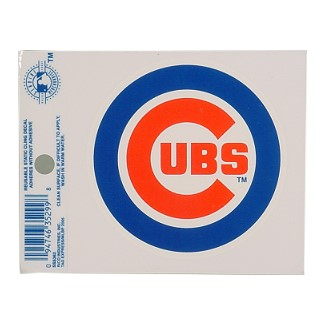 Chicago Cubs Static Cling