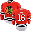 Chicago Blackhawks Marcus Kruger Youth Red Premier Jersey w/ Authentic Lettering