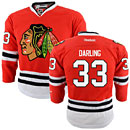Chicago Blackhawks Scott Darling Youth Red Premier Jersey w/ Authentic Lettering