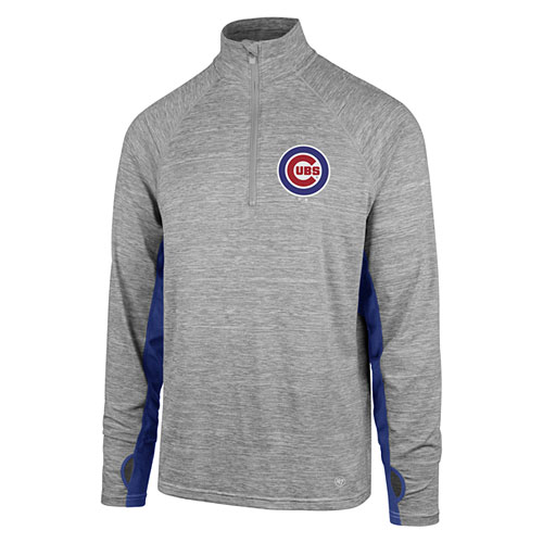 Chicago Cubs Forward Evolve 1/4 Zip Pullover Jacket