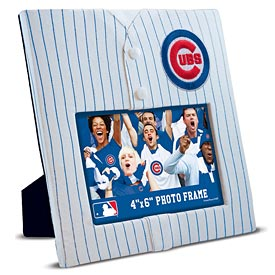 """Chicago Cubs Uniformed 4"""" x 6"""" Picture Frame"""