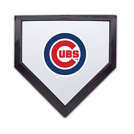 Chicago Cubs Pocket Home Plate