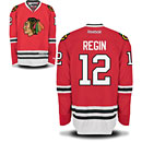 Chicago Blackhawks Peter Regin Youth Red Premier Jersey w/ Authentic Lettering