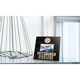 "Pittsburgh Steelers 10"" x 10"" Picture Frame Sign"