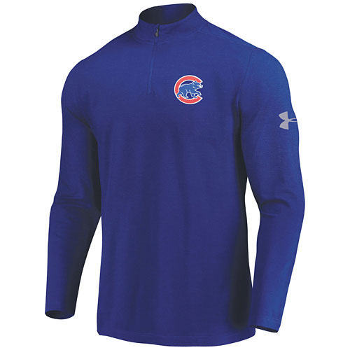 699573d0 Chicago Cubs Under Armour Passion 1/4-Zip Jacket