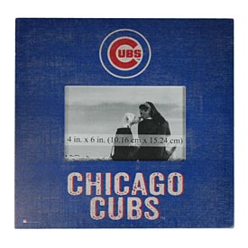 "Chicago Cubs 10"" x 10"" Picture Frame Sign"