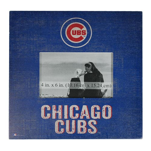 Chicago Cubs 10 X 10 Picture Frame Sign