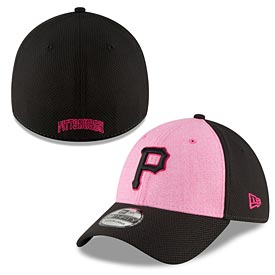 Pittsburgh Pirates 2018 Mother's Day 39THIRTY Flex Cap