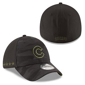 Chicago Cubs 2018 Memorial Day 39THIRTY Flex Fit Cap