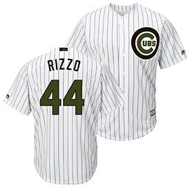 Chicago Cubs Anthony Rizzo 2018 Memorial Day Home Cool Base Replica Jersey