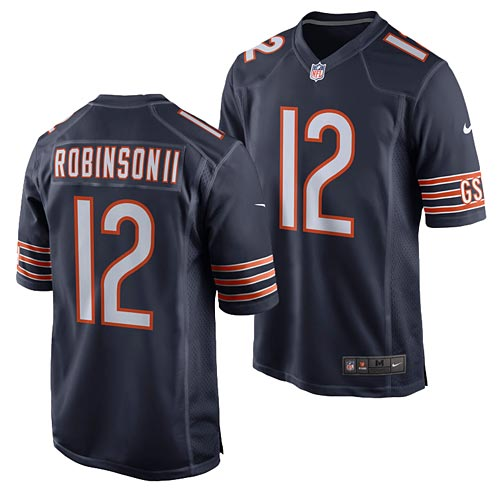 timeless design b1c15 9ce38 Chicago Bears Allen Robinson Game Team Color Jersey
