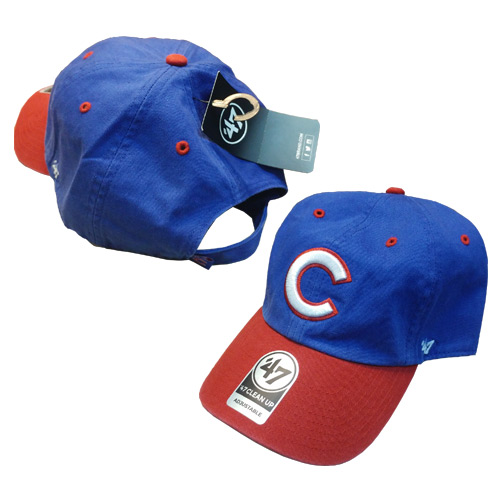 d575741bb851b Chicago Cubs Two-Tone Cleanup Adjustable Cap