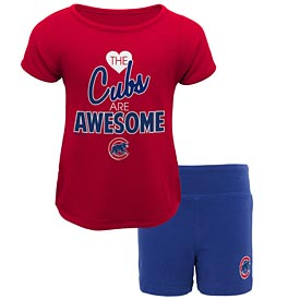 Chicago Cubs Preschool Girls Greatness Shorts Set