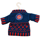 Chicago Cubs Knit Sweater Ornament