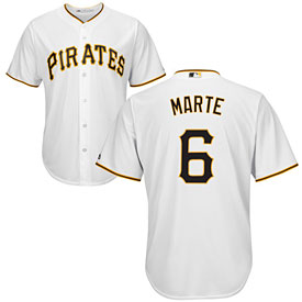 Pittsburgh Pirates Starling Marte Youth Home Cool Base Replica Jersey