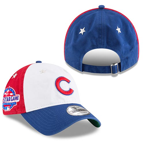 Chicago Cubs New Era White Royal 2018 MLB All-Star Game 9TWENTY Adjustable  Hat 5d167ee9834