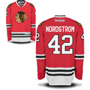 Chicago Blackhawks Joakim Nordstrom Youth Red Premier Jersey w/ Authentic Lettering
