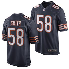 1938ebdca73 Chicago Bears Roquan Smith Game Team Color Jersey