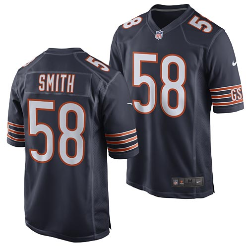 the latest e7e07 5d1cf Chicago Bears Roquan Smith Game Team Color Jersey