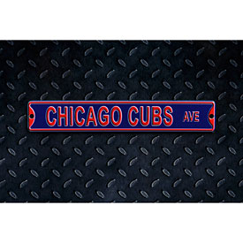 Chicago Cubs Ave. Street Sign Steel Magnet