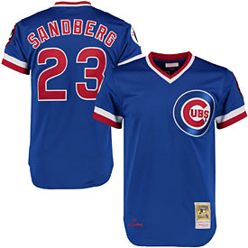 Chicago Cubs Authentic 1984 Ryne Sandberg Road Jersey