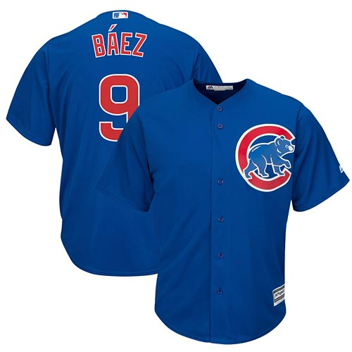 Chicago Cubs Javier Baez Alternate Cool Base Replica Jersey