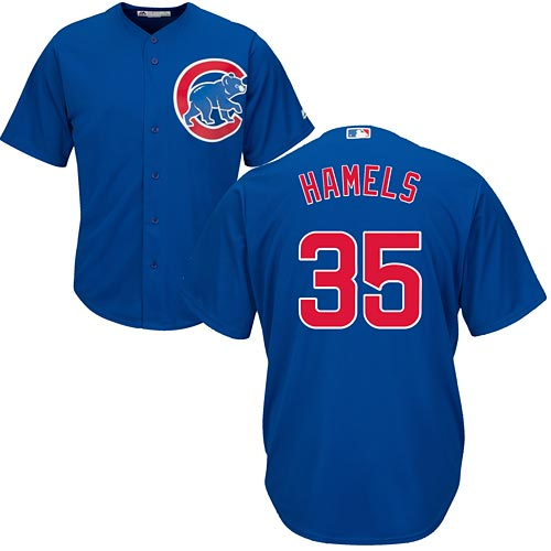sports shoes 96e9e 98ae2 Chicago Cubs Cole Hamels Alternate Cool Base Replica Jersey