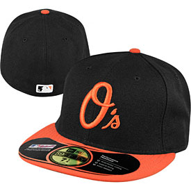 Baltimore Orioles Authentic Alternate Performance 59FIFTY On-Field Cap