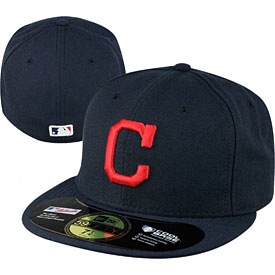 Cleveland Indians Authentic Road Performance 59FIFTY On-Field Cap