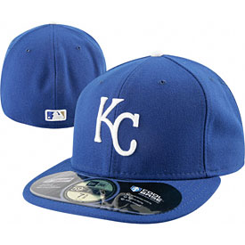 Kansas City Royals Authentic Home Performance 59FIFTY On-Field Cap