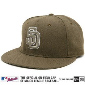 San Diego Padres Authentic Alternate Performance 59FIFTY On-Field Cap