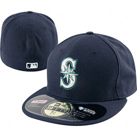 Seattle Mariners Authentic Game Performance 59FIFTY On-Field Cap