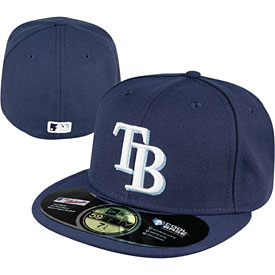 Tampa Bay Rays Authentic Game Performance 59FIFTY On-Field Cap