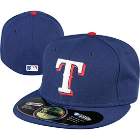 Texas Rangers Authentic Game Performance 59FIFTY On-Field Cap