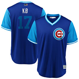 Chicago Cubs Kris Bryant 2018 Players Weekend Replica Cool Base Jersey