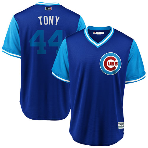 ef4658a20 Chicago Cubs Anthony Rizzo 2018 Players Weekend Replica Cool Base Jersey