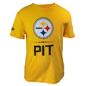 Pittsburgh Steelers Youth Under Armour Combine Lock Up T-Shirt