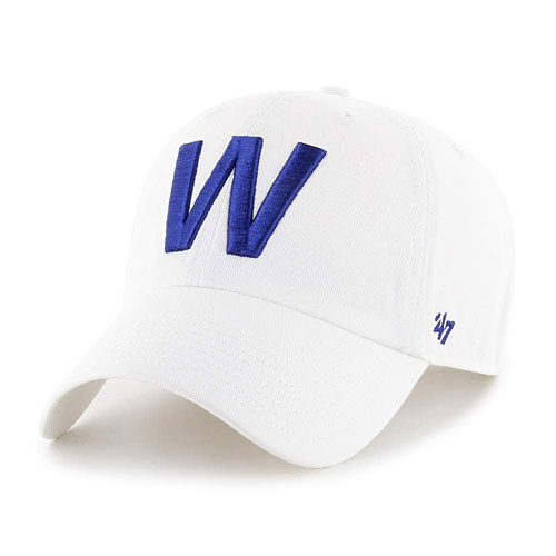 Chicago Cubs W Flag Cleanup Adjustable Cap 8f95996f52d