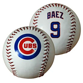 Chicago Cubs Javy Baez Baseball