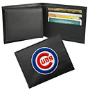 Chicago Cubs Leather Billfold Wallet