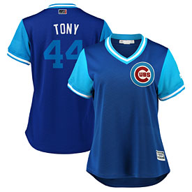 Chicago Cubs Anthony Rizzo Ladies 2018 Players Weekend Replica Cool Base Jersey